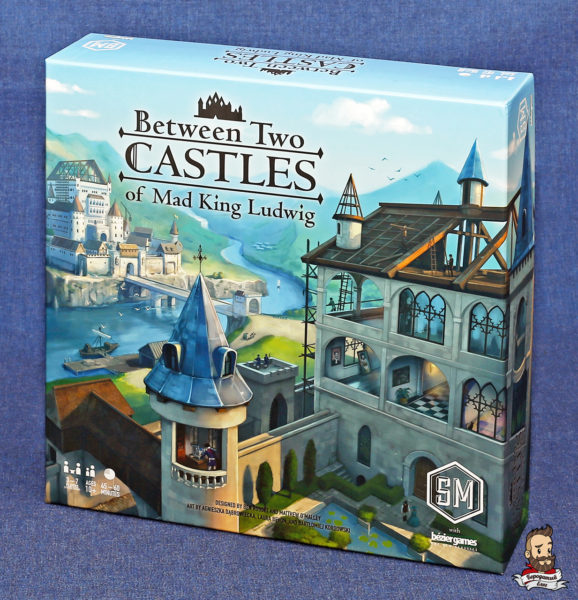 Коробка с игрой Between Two Castles of Mad King Ludwig