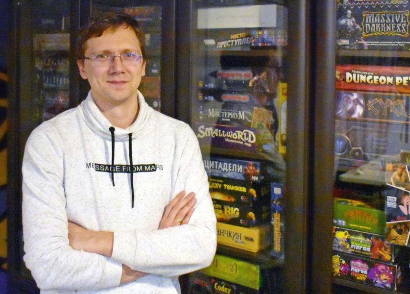 Павел Алеенков - основатель клуба Terra