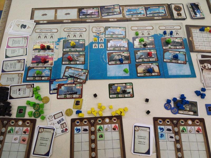 Игровой процесс Transatlantic