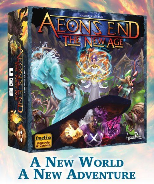 Aeon's End The New Age kickstarter