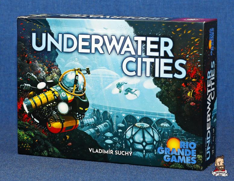 Коробка с игрой Подводные города (Underwater Cities)