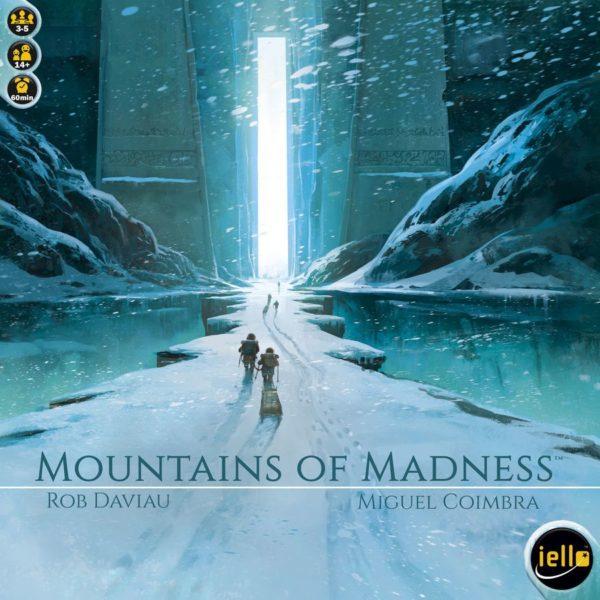 Иллюстрация с коробки игры Mountains of Madness