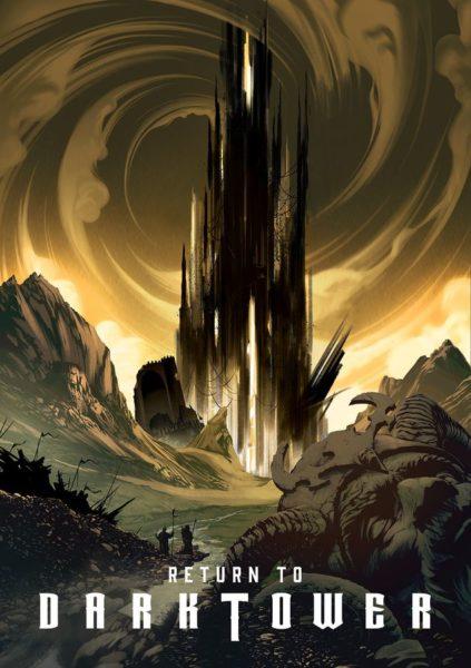 Иллюстрация к игре Return to the Dark Tower