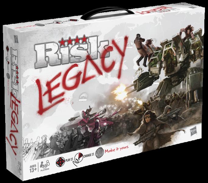 Коробка с игрой Risk Legacy