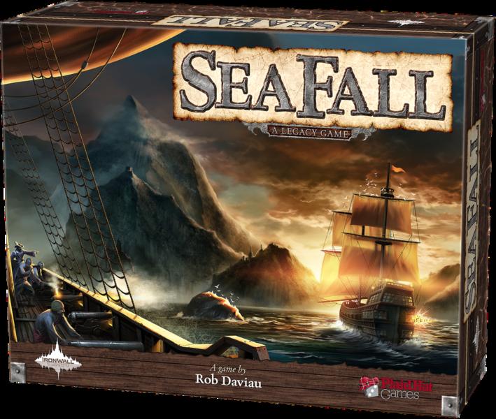 Коробка с игрой SeaFall