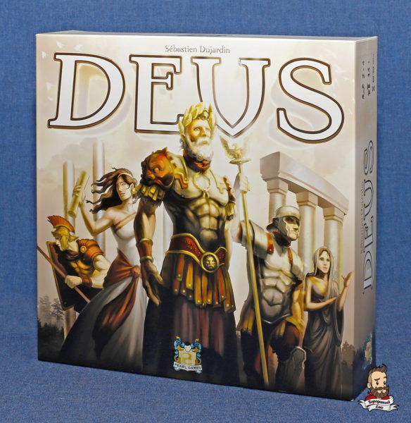 Коробка с игрой Deus