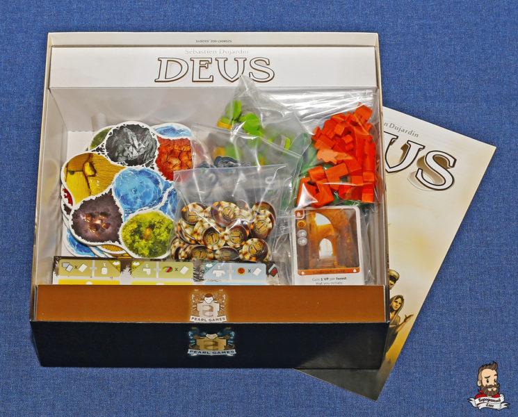 Компоненты игры Deus