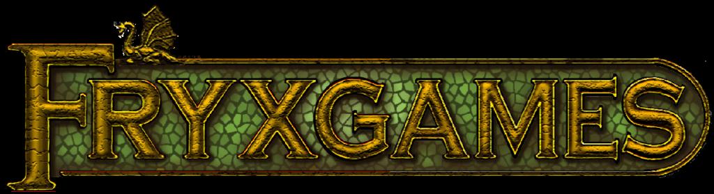 Логотип издательства Fryxgames