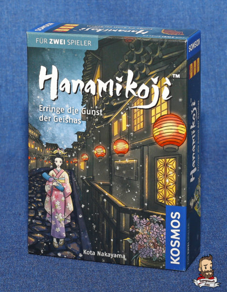 Коробка с игрой Путь лепестка (Hanamikoji)
