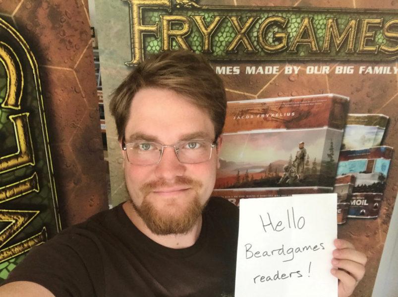 Йонатан Фрюкселиус специально для Beardgames