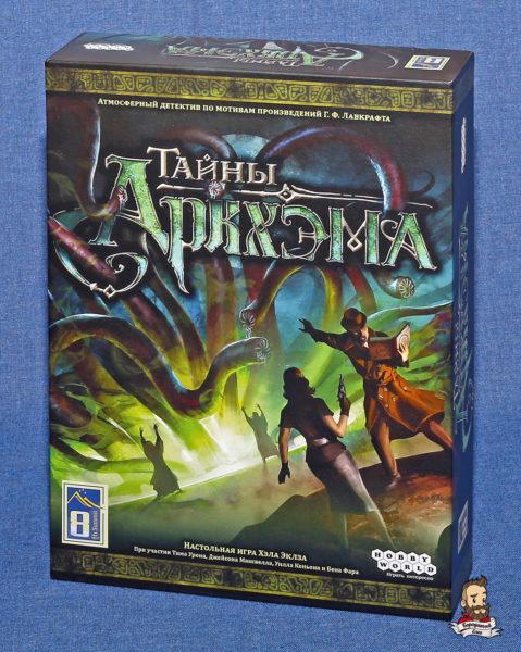Коробка с игрой Тайны Аркхэма (Mythos Tales)