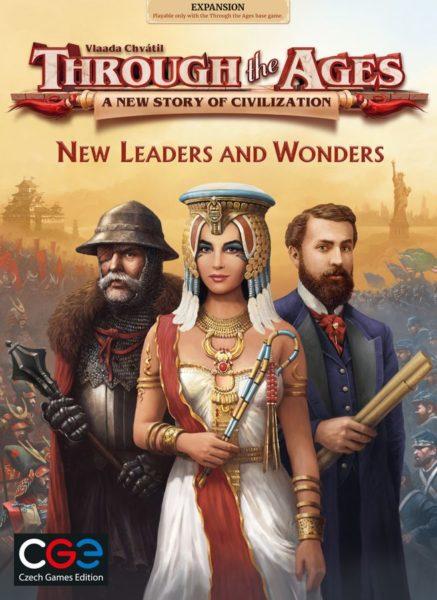Дополнение Новые лидеры и чудеса к игре Сквозь века