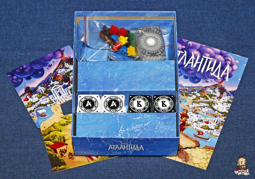 Компоненты игры Атлантида (Atlantis)