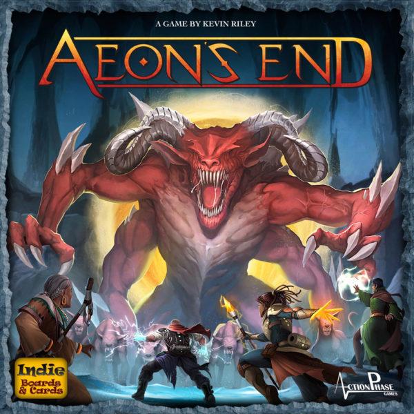 Коробка с игрой Aeon's End