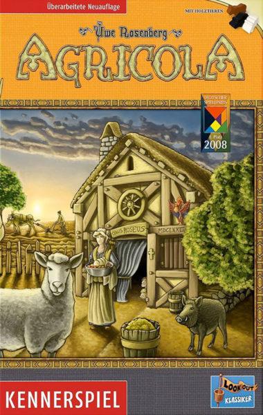 Коробка с игрой Agricola