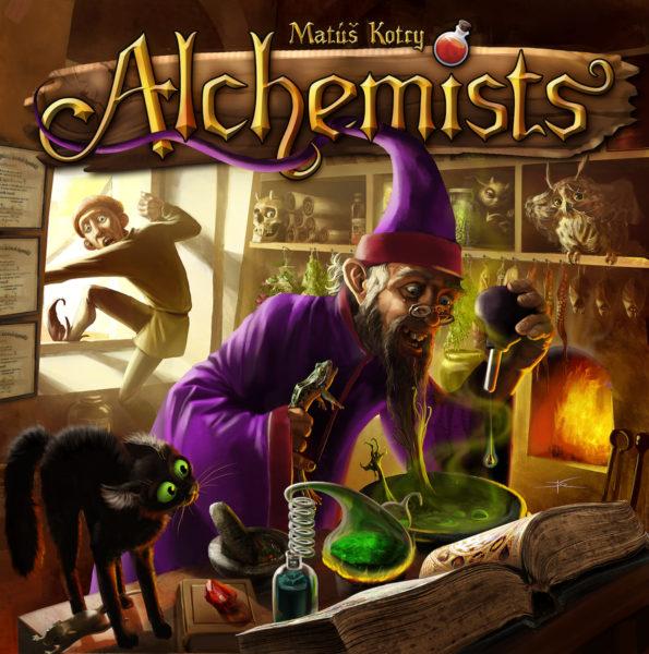 Коробка с игрой Алхимики (Alchemists)