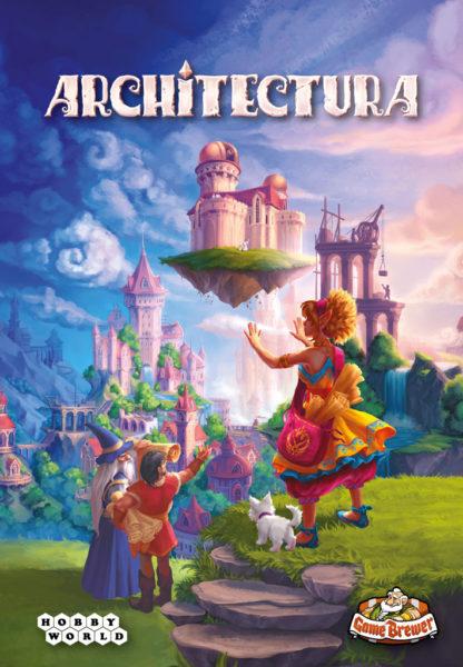 Коробка с игрой Architectura (Зодчие)