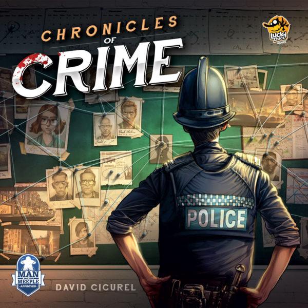Коробка с игрой Место преступления (Chronicles of Crime)
