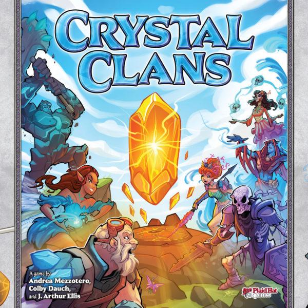 Коробка с игрой Crystal Clans