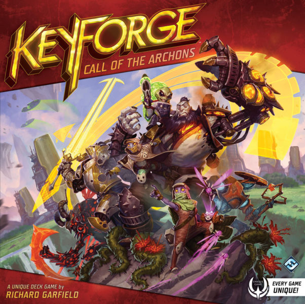 Коробка с игрой KeyForge