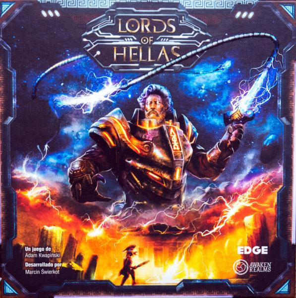 Коробка с игрой Владыки Эллады (Lords of Hellas)