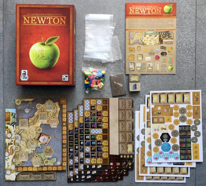 Компоненты игры Newton