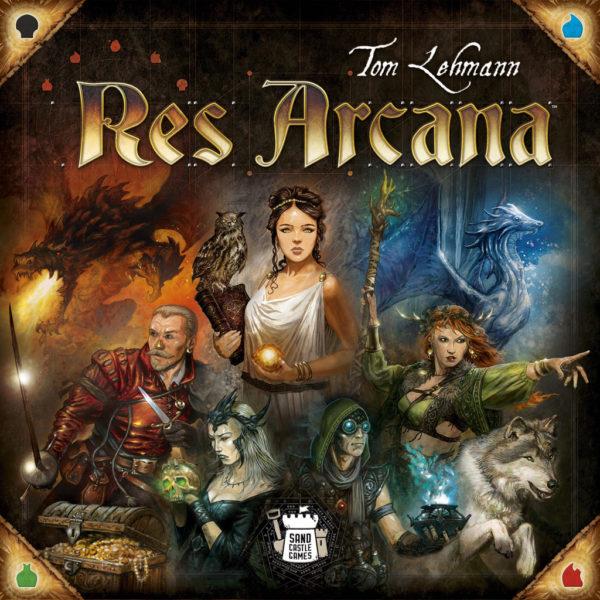 Коробка с игрой Res Arcana