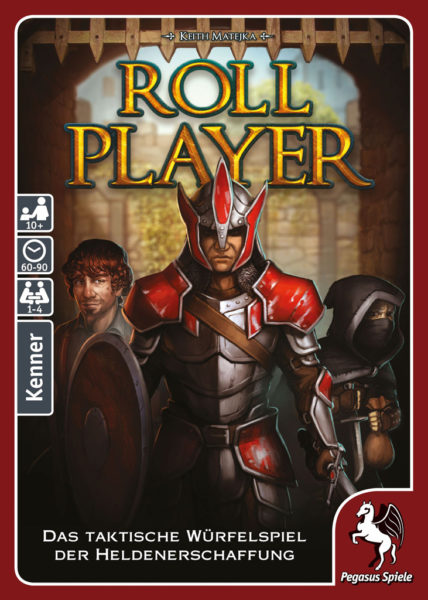 Коробка с игрой Путь героя (Roll Player)