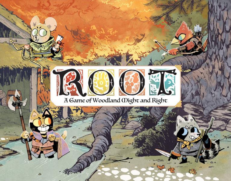 Коробка с игрой Корни (Root)