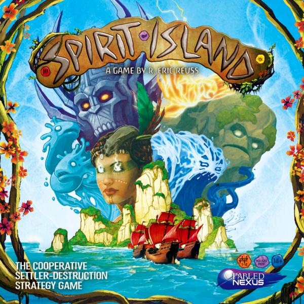 Коробка с игрой Остров духов (Spirit Island)