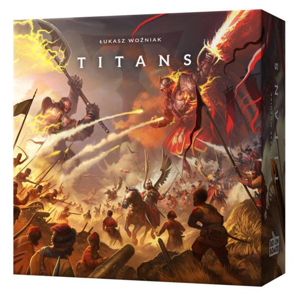 Прототип коробки игры Titans