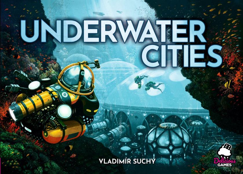 Коробка с игрой Подводные города