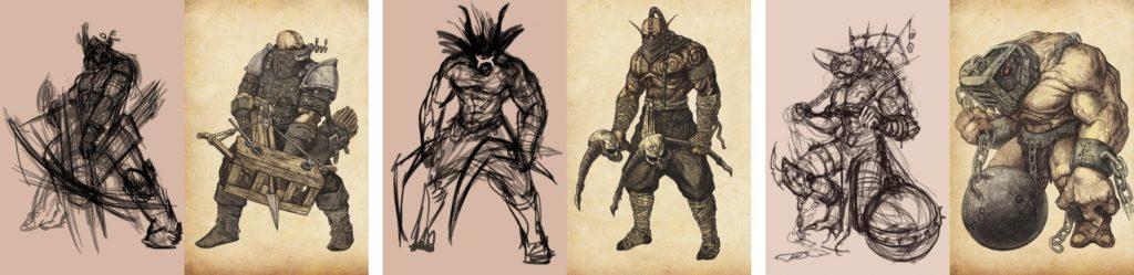 Как менялись персонажи Бестиария Сигиллума