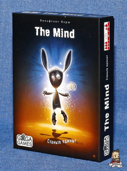 Коробка с игрой Разум (the Mind)