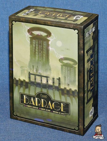 Коробка с игрой Плотина (Barrage)