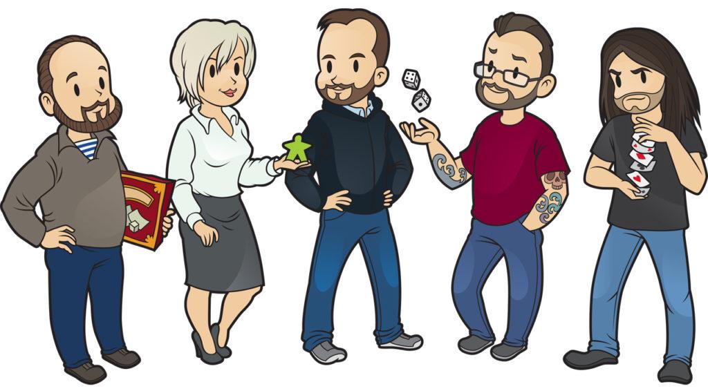 Команда Бородатого блога 2015-го года