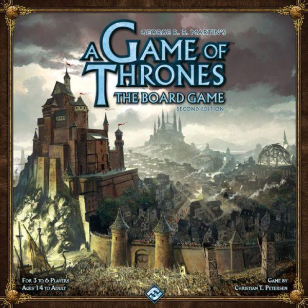 Коробка с игрой Игра престолов (Game of Thrones)