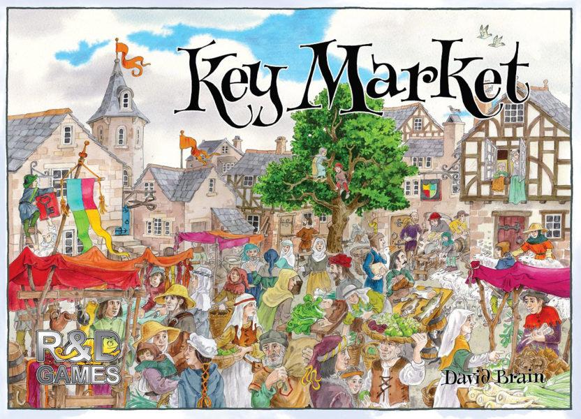 Коробка с игрой Key Market