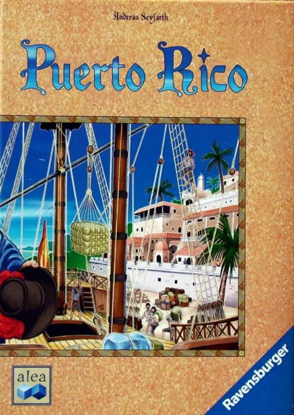 Коробка с игрой Пуэрто-Рико (Puerto Rico)