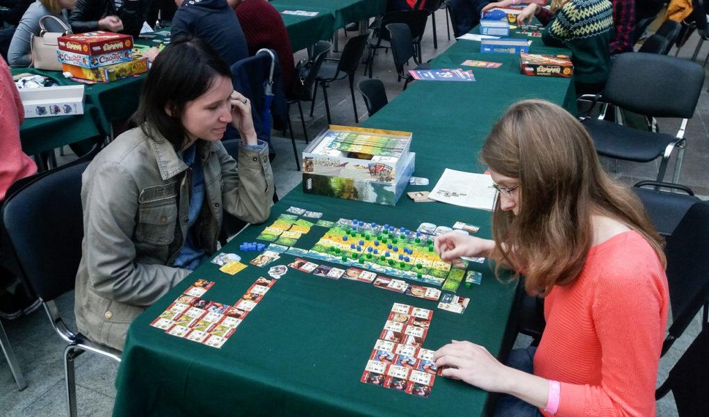 Аня играет в Бронзу на Игроконе