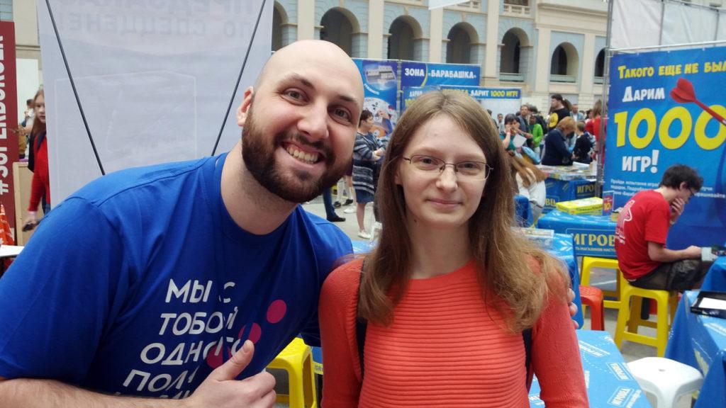 Анна Чиликина и Илья Мурсеев