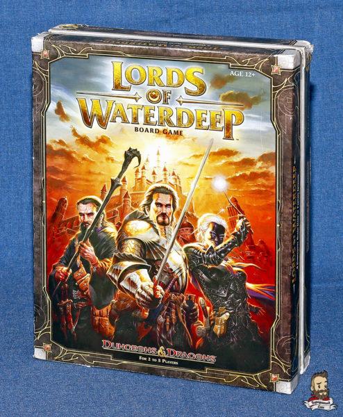 Коробка с игрой Lords of Waterdeep (Лорды Вотердипа)