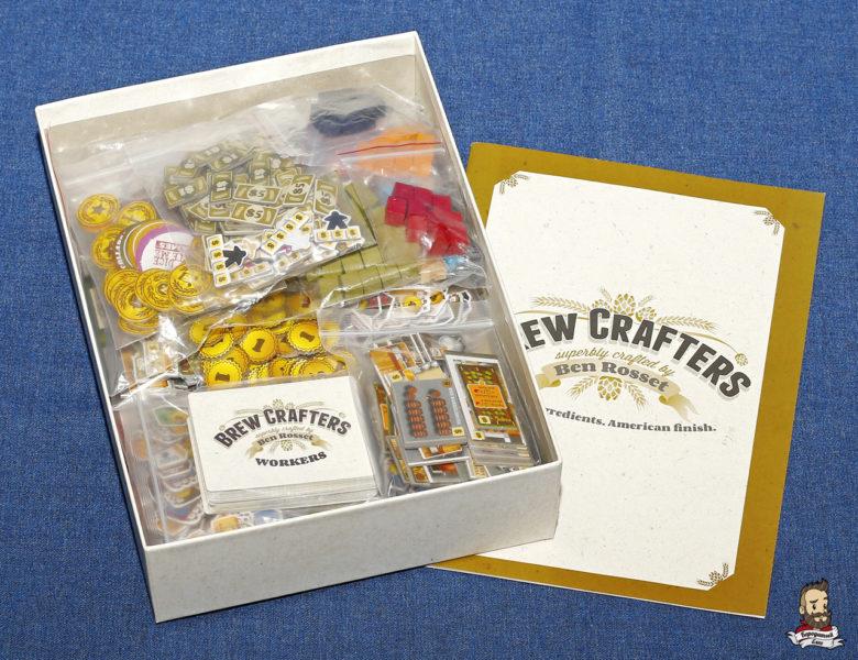 Компоненты игры Brew Crafters