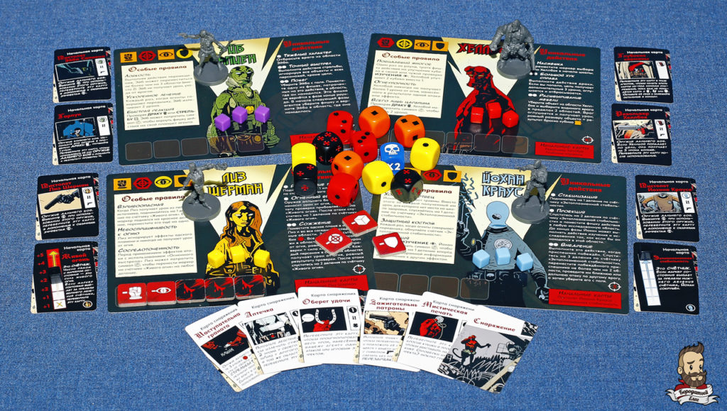 Игровые персонажи и экипировка