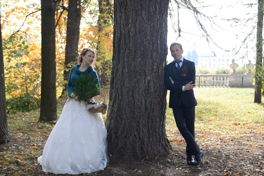 Иван Ильичев с женой
