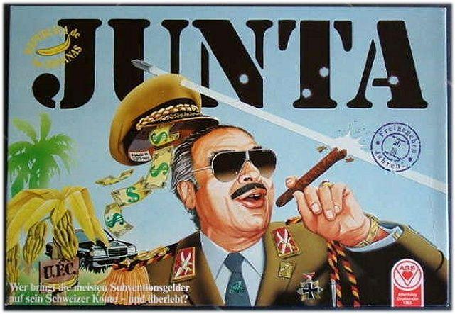 Немецкая версия игры Junta 1978-го года