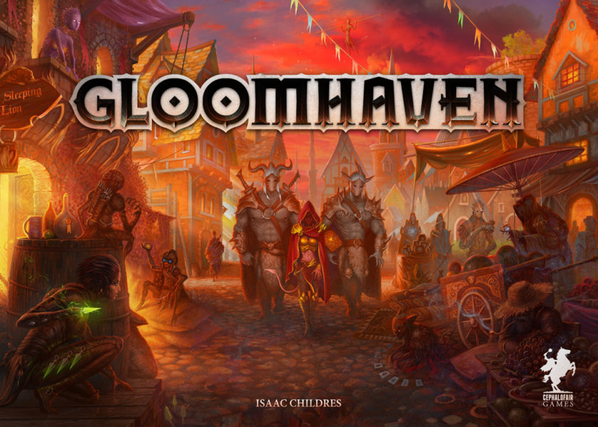 Gloomhaven, он же Глумхевен, он же Мрачная гавань