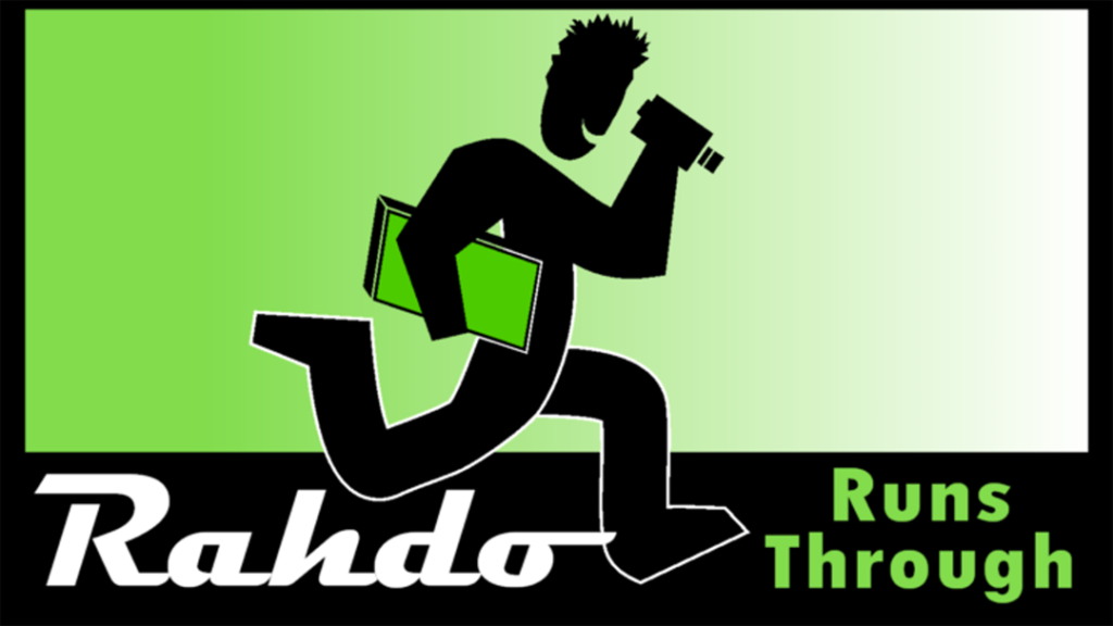Rahdo Runs Through logo