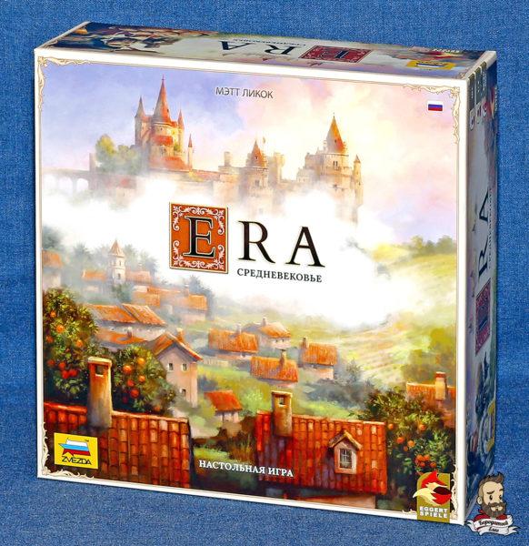 Коробка с игрой Era: Средневековье