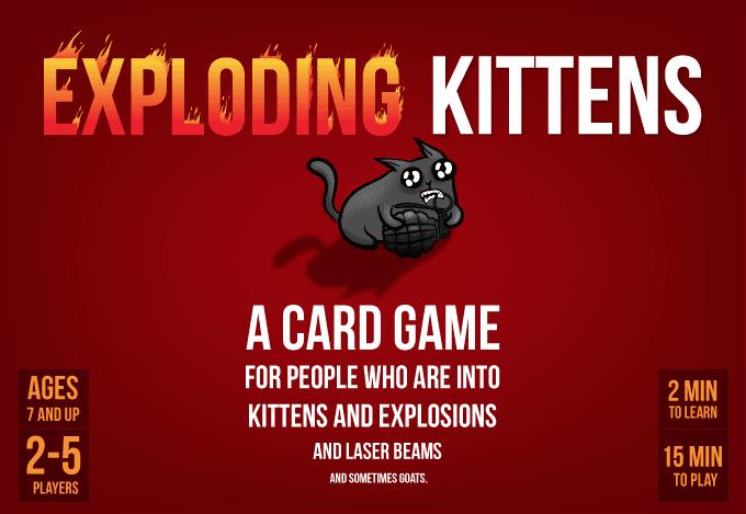 Взрывные котята (Exploding Kittens)